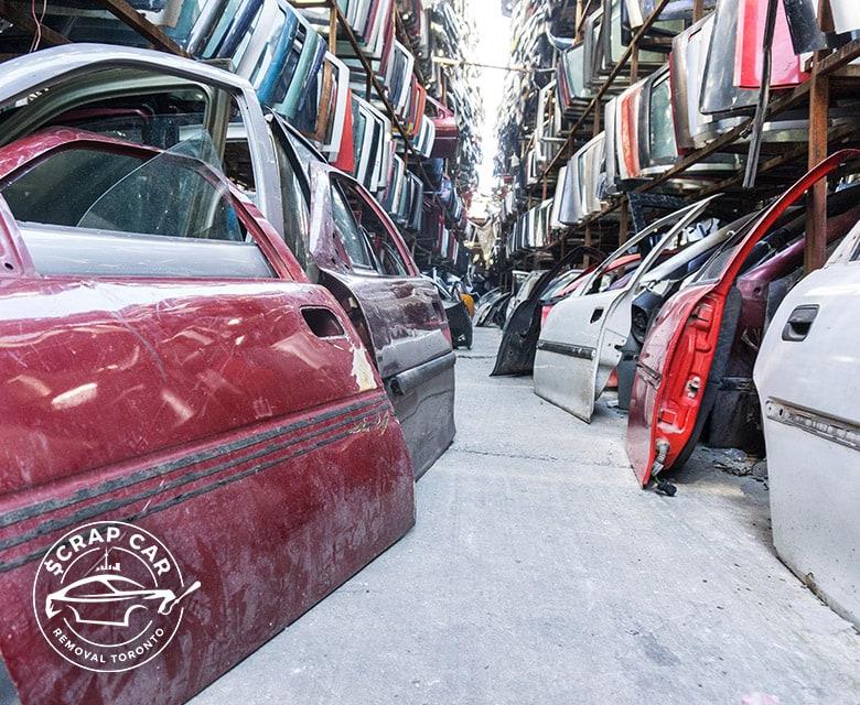 Environmentally Friendly Auto Scrap Yard Toronto