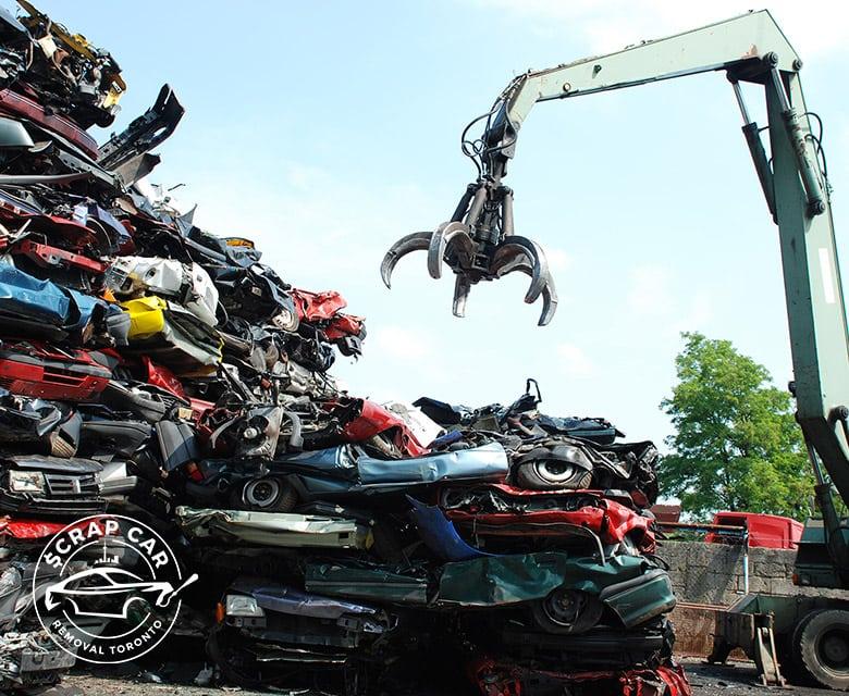 Environmentally Friendly Scrap Car Recycling