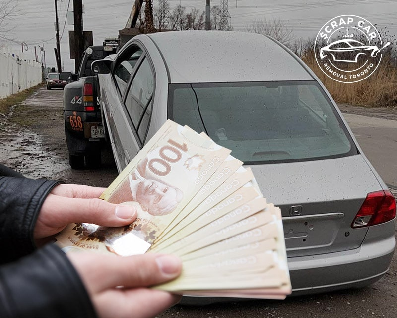 We Pay Top Cash For Scrap Cars In North York