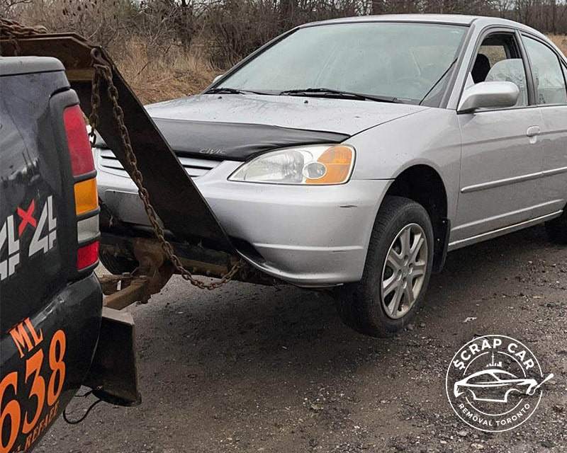 We Pick Up Your Scrap Car For Free